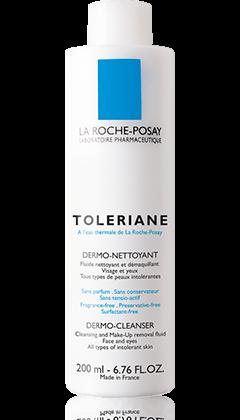 La Roche-Posay TOLERIANE 抗敏舒緩系列系列的TOLERIANE  DERMO CLEANSER 抗敏舒緩潔面乳 產品圖片