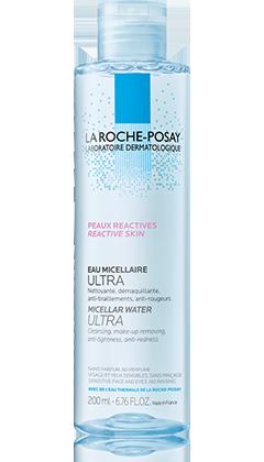La Roche-Posay PHYSIOLOGICAL 平衡潔淨系列系列的MICELLAR WATER ULTRA  REACTIVE SKIN 溫泉舒緩低敏卸妝潔膚水  產品圖片