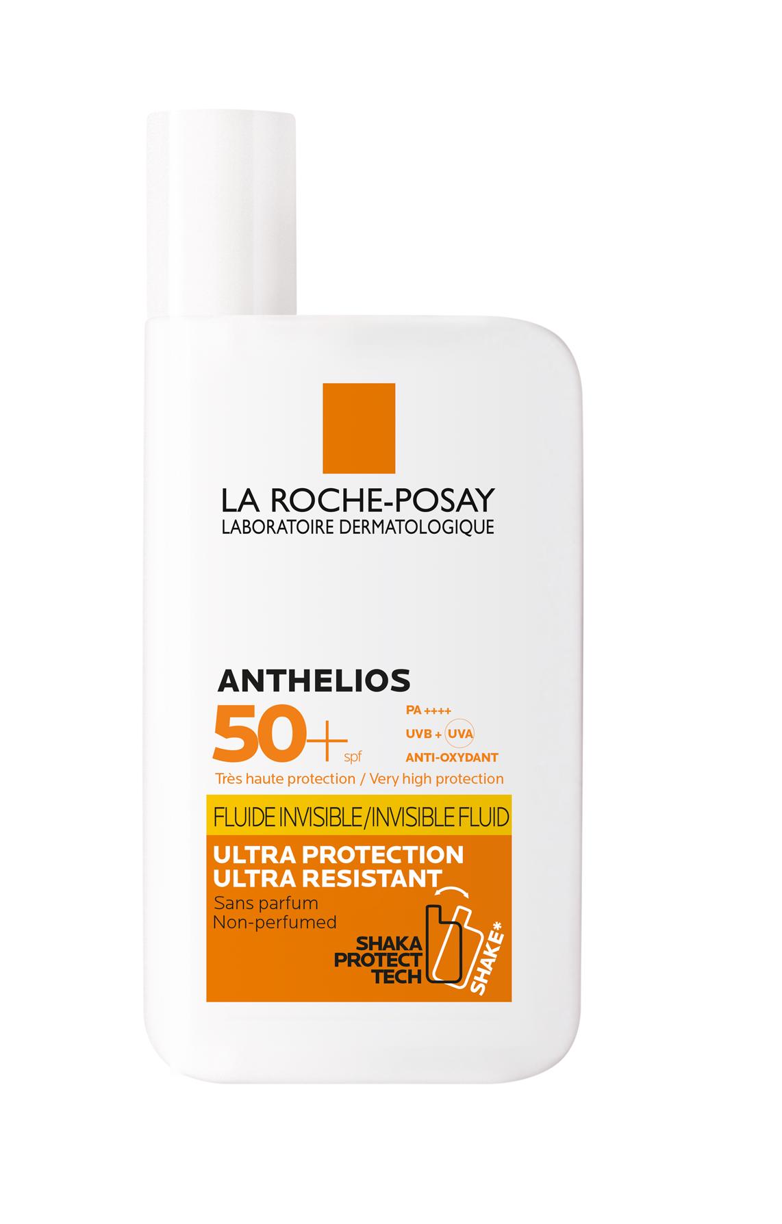 La Roche-Posay ANTHELIOS XL  全效廣譜防曬系列系列的ANTHELIOS Invisible Fluid SPF50+ 全效廣譜輕盈隔離乳液 SPF50+  產品圖片