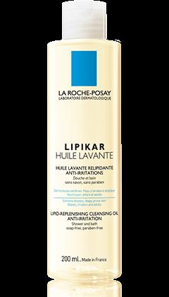 La Roche-Posay LIPIKAR 全效修護系列系列的LIPIKAR CLEANSING OIL 全效修護沐浴油 $140 產品圖片
