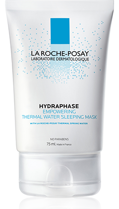 La Roche-Posay HYDRAPHASE 長效保濕修護系列系列的HYDRAPHASE  EMPOWERING THERMAL WATER SLEEPING MASK 長效保濕睡眠面膜  產品圖片