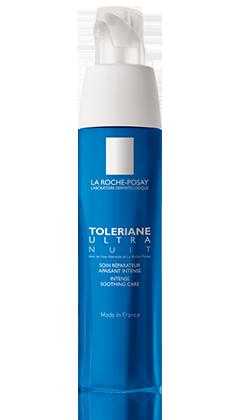La Roche-Posay TOLERIANE 抗敏舒緩系列系列的TOLERIANE ULTRA OVERNIGHT 抗敏全效晚間修護面霜  產品圖片